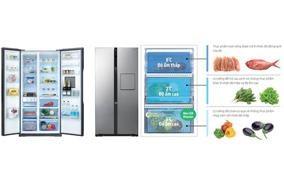 Tủ lạnh Panasonic NR-BS63XNVN - 581 lít
