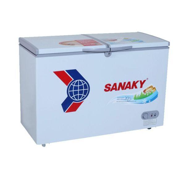 Tủ đông Sanaky VH-2599W1 2 ngăn 2 cánh 250 lít