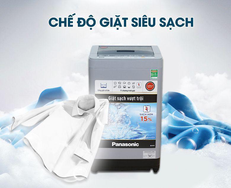 Nút bấm Super Clean tăng khả năng giặt sạch lên đến 20%