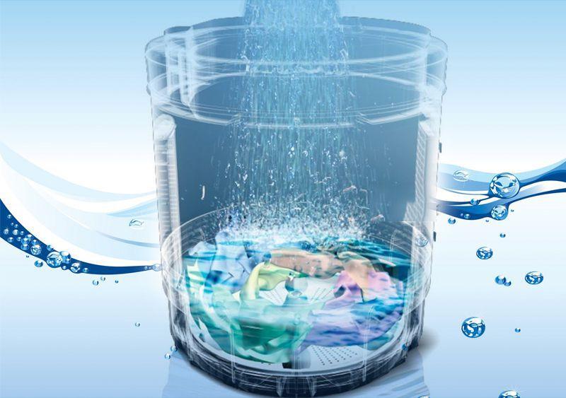 Công nghệ giặt xả Aqua Spin Rinse tiết kiệm nước