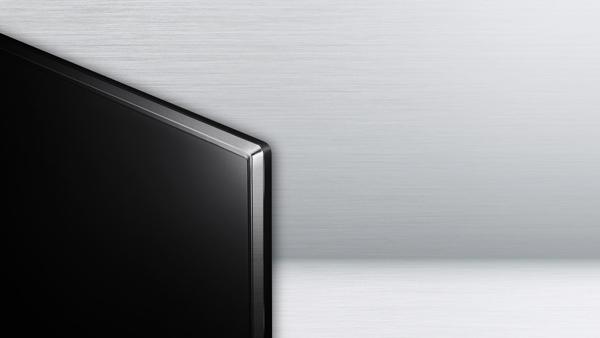 tivi LG 49UJ750T với thiết kế mượt mà tinh tế