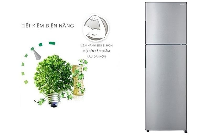 Tủ lạnh Sharp inverter SJ-X251E-DS