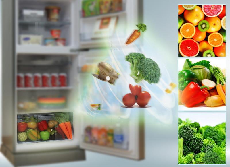 tủ lạnh Panasonic inverter NR-BA228VSV1