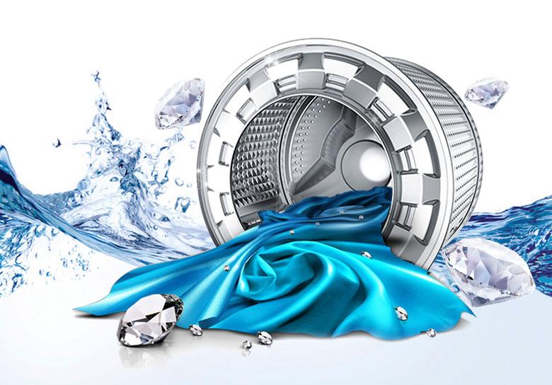 Máy giặt Samsung WA10J5750SG/SV 10kg