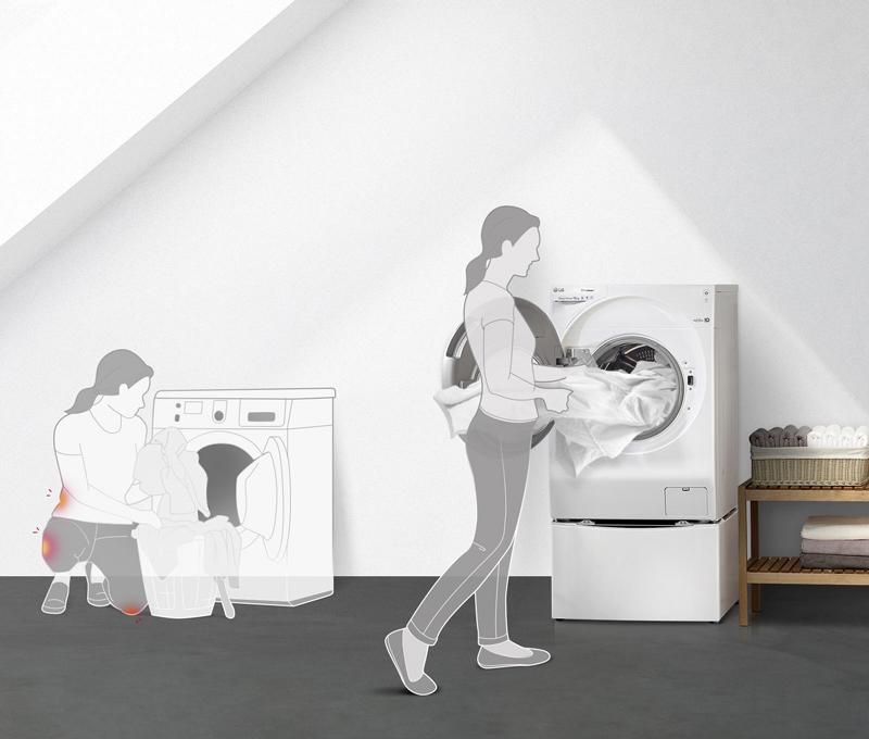 Máy giặt LG cửa trước