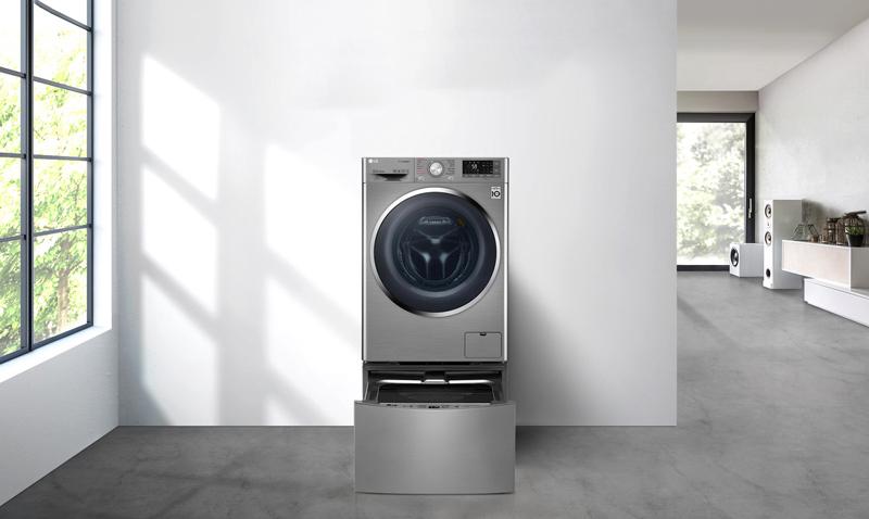 Máy giặt LG Twinwash TWC1409S2W & TG2402NTWW