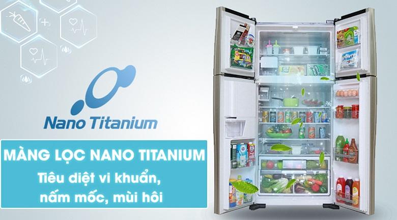Bộ lọc khử mùi kháng khuẩn Nano Titanium loại bỏ mùi khó chịu từ thực phẩm