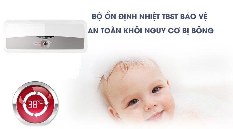 bộ ổn định nhiệt TBST được trang bị trên bình nước nóng