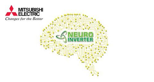 Tủ lạnh Mitsubishi MR-FX47EN(GSL) được trang bị công nghệ Neuro Inverter