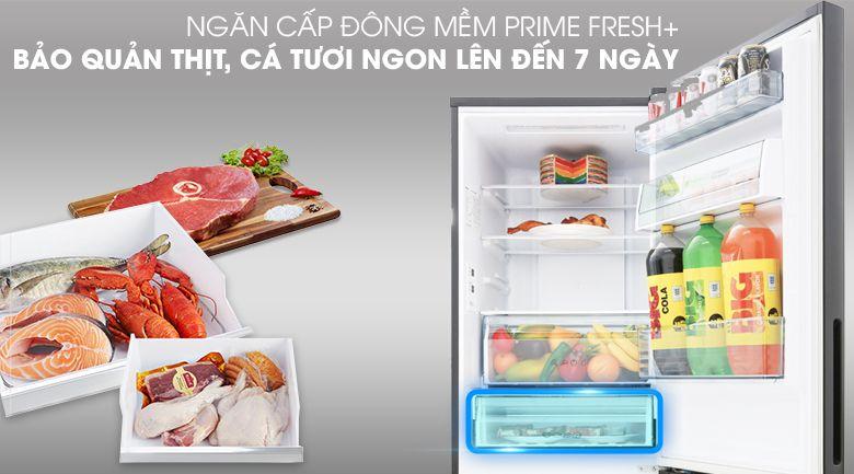 Ngăn cấp đông mềm thế hệ mới Prime Fresh+
