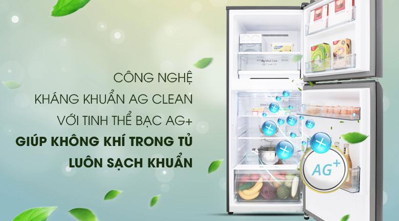 Loại bỏ vi khuẩn gây hại và mùi hôi khó chịu với công nghệ kháng khuẩn Ag Clean
