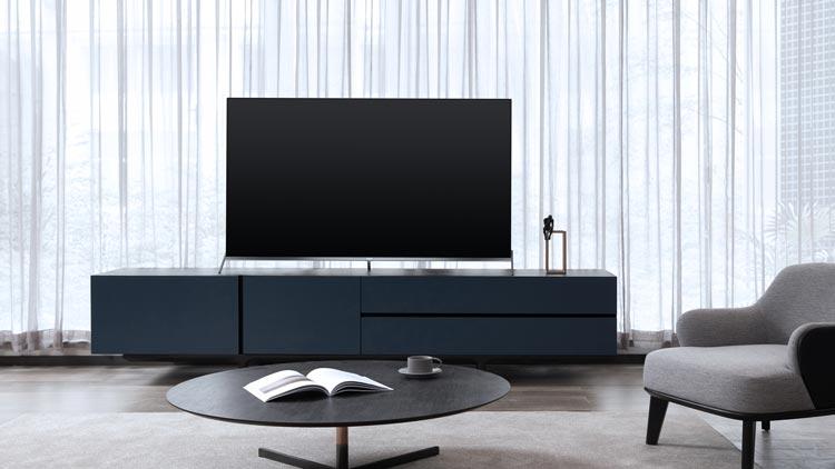 Smart tivi TCL 4K 55 inch 55P8S với thiết kế khung viền hợp kim
