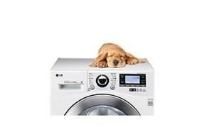 Máy giặt LG vận hành êm ái