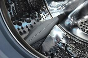Lồng giặt làm từ kim loại cao cấp bền bỉ